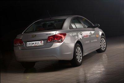 Chevrolet Cruze на тест-драйве Drom.ru