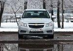 Chevrolet Cruze, вид спереди