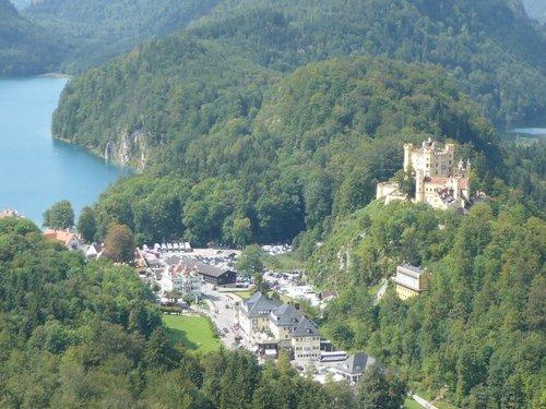 Второй (Родительский) замок Хоэншвангау (Hohenschwanstein).