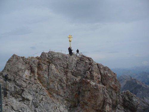 Самая высокая точка Альп в Германии.