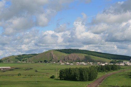 Где-то в Красноярском крае.