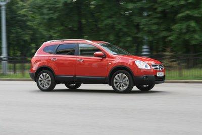 Nissan Qashqai+2 на тест-драйве Drom.ru