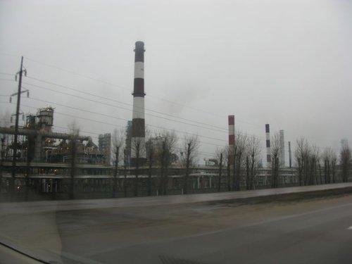 Ярославский нефтеперерабатывающий завод.