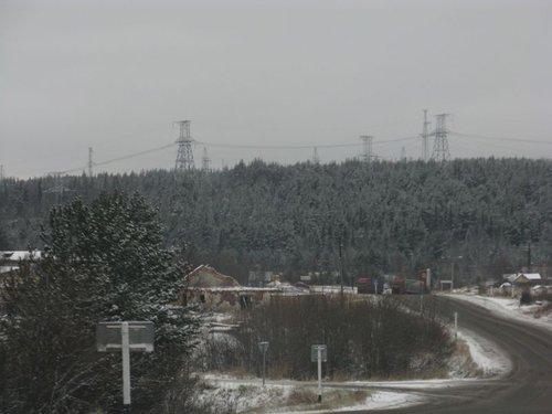 Спуск к ГЭС «Княжегубской».