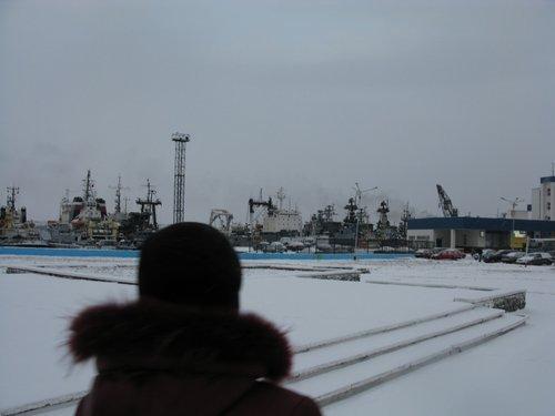 Североморск, порт.