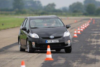 Приемистость: Prius послушно преодолевает ходовые испытания.
