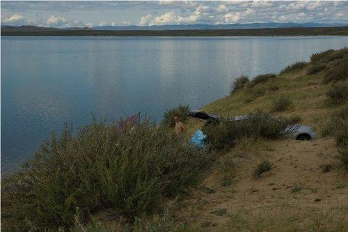 Лагерь на озере Торе-холь.