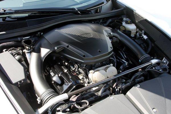 Двигатель Lexus LFA