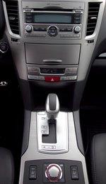 Subaru Legacy GTS - центральная панель