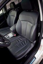 Subaru Legacy GTS - салон, кожаные сиденья переднего ряда