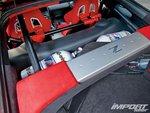 Nissan 350Z, багажное отделение