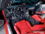 Nissan 350Z, интерьер