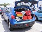 Багажный отсек может вместить 1513 литров.