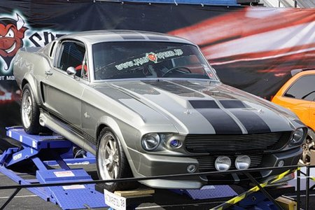 Ford Mustang Shelby GT500 Eleanor (by MadSpeed) (Евгений Серкин