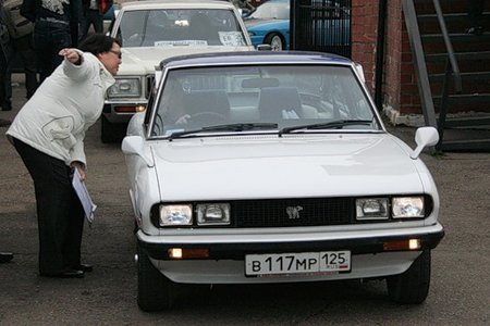 Isuzu 117 Coupe Blanc Edition (Команда Nittzerwerk, Владивосток)