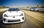Lexus LFA и Nissan GT-R