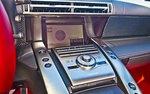 Дисплей на центральной консоли Lexus LFA
