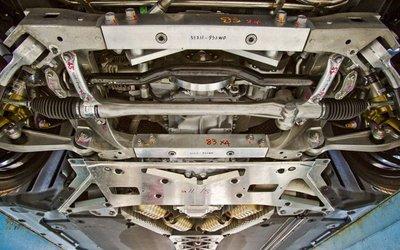 Днище Lexus LFA