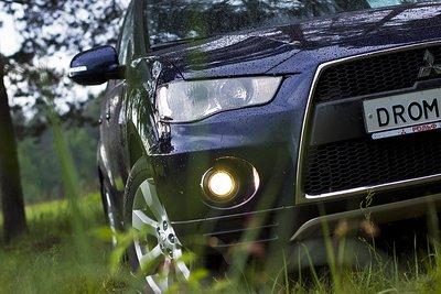 Mitsubishi Outlander XL на тест-драйве Drom.ru