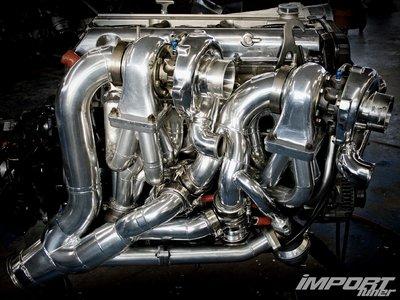 Двигатель и турбины