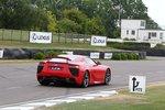 Lexus LFA на треке