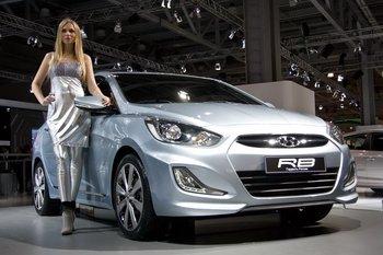 Hyundai RB - концептульный автомобиль для России
