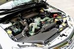 Горизонтально-оппозитный, 4-цилиндровый, 4-тактный бензиновый двигатель