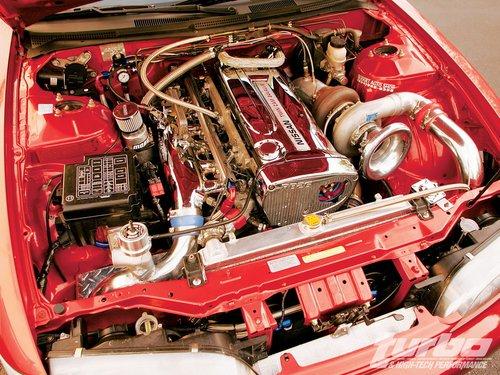 Двигатель RB26DETT под капотом Nissan 240SX