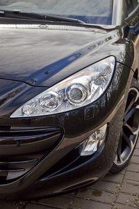 Передние фары Peugeot RCZ