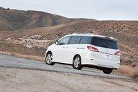 Мы обнаружили мертвую зону за четвертой стойкой Nissan Quest 2011.