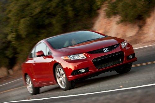 Honda Civic Si Coupe 2012 сильно изменился по сравнению с прошлым годом, хотя вы вряд ли сможете это заметить.