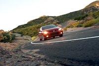 Автоматические галогеновые лампы основных и противотуманных фар входят в стандартную комплектацию Honda Civic Si Coupe.
