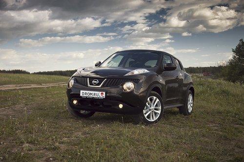 Nissan Juke на тест-драйве Drom.ru