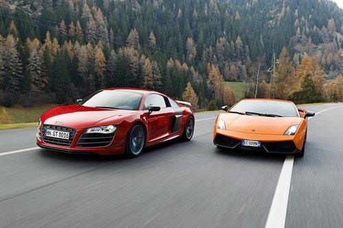 Lamborghini все еще гонится за Audi?