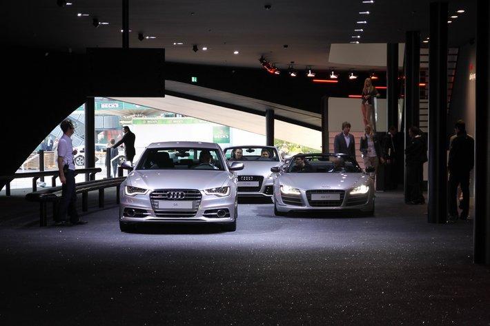 Спортивные Audi на треке. Франкфурт 2011
