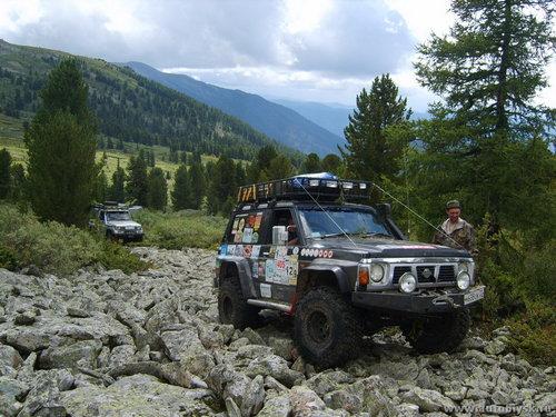Автомобильный спортивный поход V категории сложности «Оськин-трофи 2011» по маршруту Чемал—Каракокша