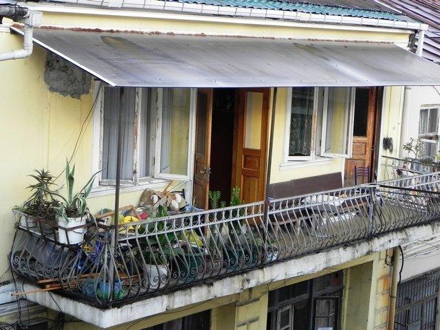 большой балкон фото