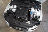 У рядного четырехцилиндрового двигателя Audi — довольно большой, но при этом легкий блок из высокотехнологичной стали. Этот двухлитровый мотор развивает 350Нм крутящего момента, что является самым высоким показателем в группе.