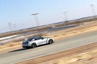 Nissan GT-R со множеством установленных на нем видеокамер.