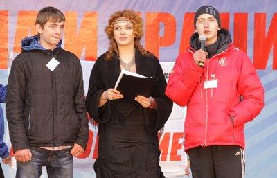 Николай Шматковский (слева) и Алексей Добош