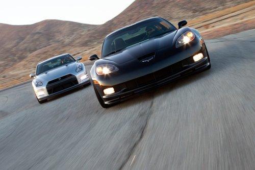 Ни Chevy Corvette Z06, ни Nissan GT-R неиспугать небольшой «пробежкой» потреку.