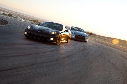 В этот день на этом треке Corvette Z06 одержал верх над GT-R.