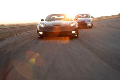 Chevrolet Corvette Z06 Centennial Picture vs. Nissan GT-R Premium