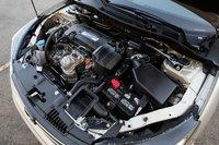 Введение системы прямого впрыска никак не отразилось на мощности четырехцилиндрового двигателя Accord, а вот тяги на низких оборотах заметно прибавилось.