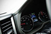 Одной из особенностей модели 2.0GT DIT является то, что в режиме S# (SportSharp) системы SI-Drive вариатор предоставляет водителю самостоятельный выбор 8псевдопередач. Входящие в состав стандартного оснащения подрулевые переключатели дают естественные ощущения от управления автомобилем и позволяют получить незабываемое удовольствие от поездки.