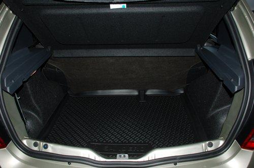 Багажник Sandero заметно менее емкий — всего 320 л