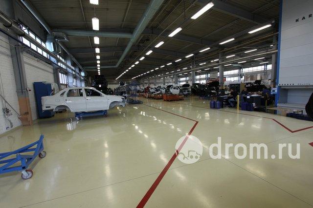 Сборочное предприятие Lada Sport