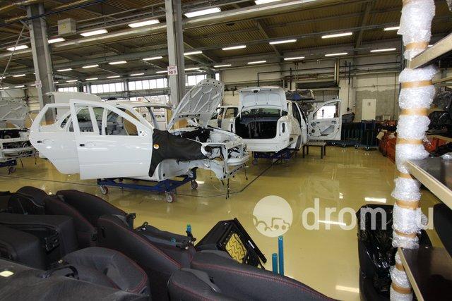 Цех Lada Sport, линия сборки