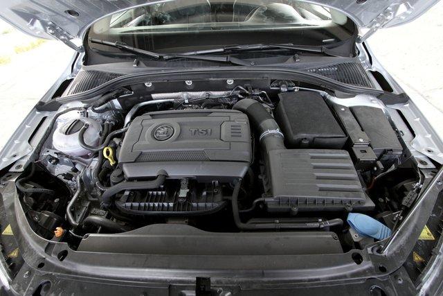 Skoda Octavia. Турбодвигатель 1,8 — из новой серии моторов EA211