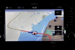 Skoda Octavia. Навигационная система: специальная версия iGO с картами Navtec